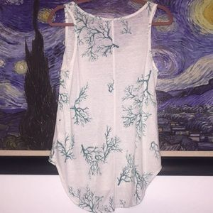 Coral Reef Old Navy Tank Size M
